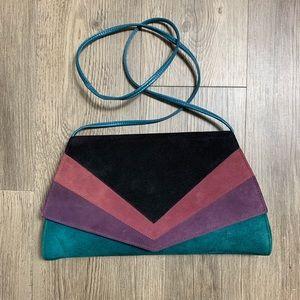 Vintage colorblock purse